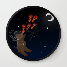 Spacial Bear Wall Clock