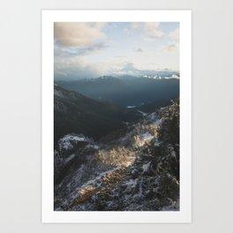 Last Light Art Print