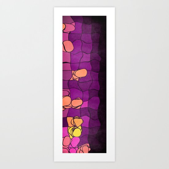 Abstract Stones II Art Print