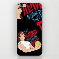 Headbuttin' Melons iPhone & iPod Skin
