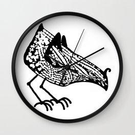 Birdie occupied Wall Clock