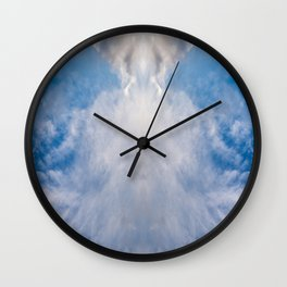 A Cloud Reflection Wall Clock