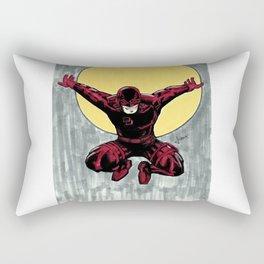 Matt Murdock. The man without fear Rectangular Pillow