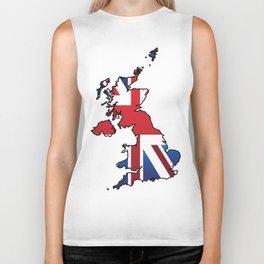 Great Britain Biker Tank