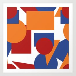 Abstract design for your creativity Art Print