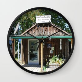 Bridal Veil Post Office Wall Clock