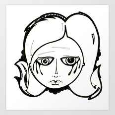 Alison. Art Print
