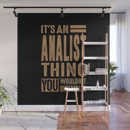 Accountant - Funny Job and Hobby Wall Mural
