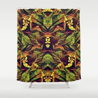 heels Shower Curtains featuring Nature in Heels by RokinRonda