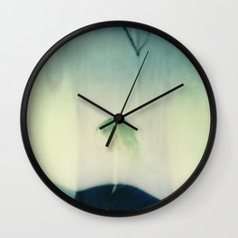 Erasure and texture Wall Clock