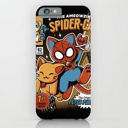 Spider Cat iPhone Case