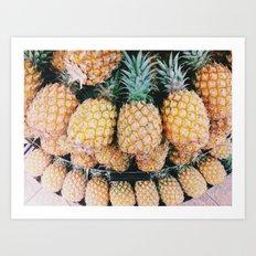 pineapple for days Art Print