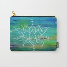 Lotus Love Carry-All Pouch