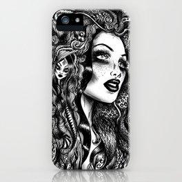 Baroque Head iPhone Case