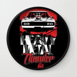 Heavy Metal Thunder Wall Clock