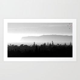 Point Loma & Coronado Art Print