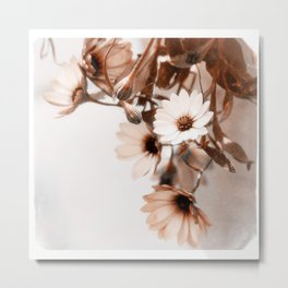 Flowers Art Poster Metal Print
