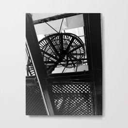 CONTRAST IV Metal Print