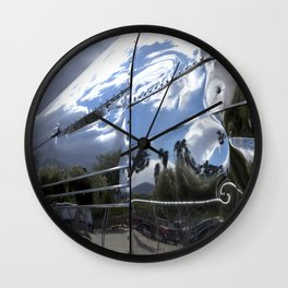 COOL CLASSIC VINTAGE AIRSTREAM Wall Clock