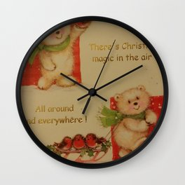 THE MAGIC OF CHRISTMAS Wall Clock