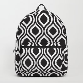 LunaSol organic pattern black 001 Backpack