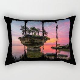Turnip Rock Rectangular Pillow