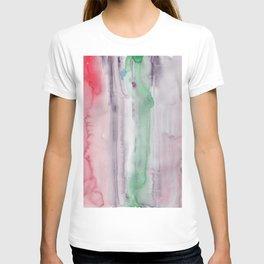 12    190907   Watercolor Abstract Painting T-shirt