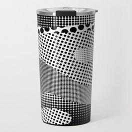 Black White Sea Travel Mug