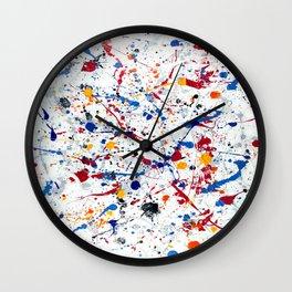 Abstract #3 - Exhilaration Wall Clock
