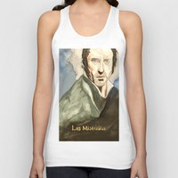 les mis Tank Tops featuring Les Mis by Paxelart
