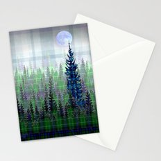 Plaid Forest Stationery Cards