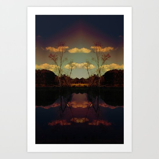 The Way In Art Print