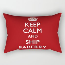 KEEP CALM & SHIP FABERRY Rectangular Pillow