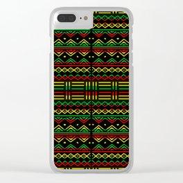 Afrique Clear iPhone Case