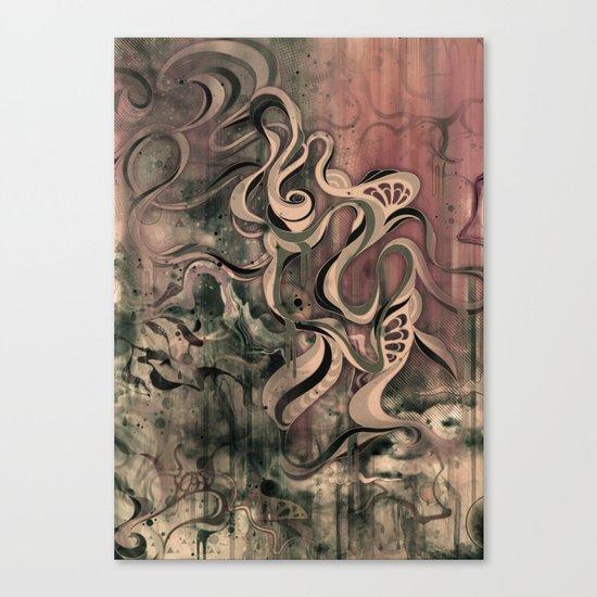 Tempest III (sandstorm) Canvas Print