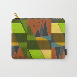 Abstraction. Carry-All Pouch
