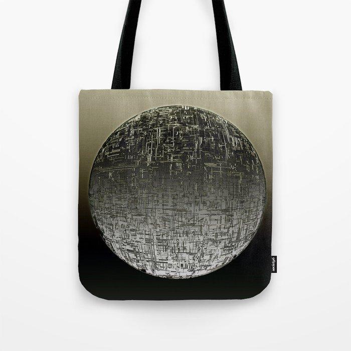 Planetary Mood 4 / Divergence Tote Bag