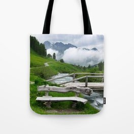 GREEN ART Tote Bag