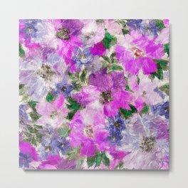 Splendid Flowers Metal Print