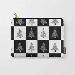 Christmas Tree Chess Carry-All Pouch