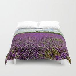 Lavender Landscape (Version 1)  Duvet Cover