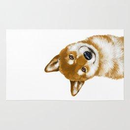 Smile Shiba Inu Rug