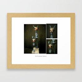 on the winter solstice Framed Art Print