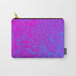 Aquatic Magenta Carry-All Pouch