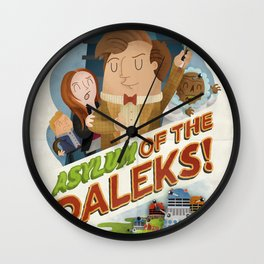 Doctor Who - Asylum of The Daleks!  Wall Clock