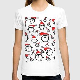 Santa Penguins T-shirt