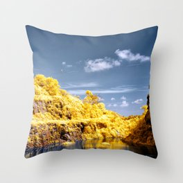 Slackline Throw Pillow