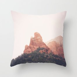 Sunrise in Sedona Throw Pillow