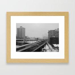 BQE Framed Art Print