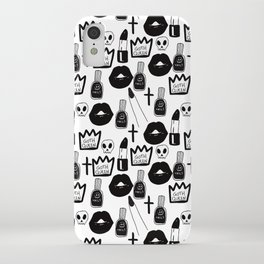 the goth queen iPhone Case